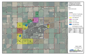 2016 Coaldale Annexation Map