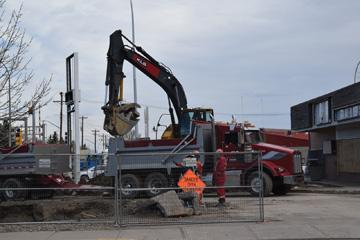 7-11 demolition