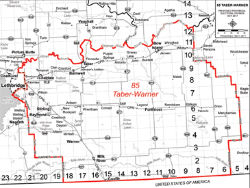 Taber-Warner Riding ABprov