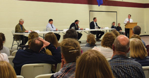 CCS candidate forum