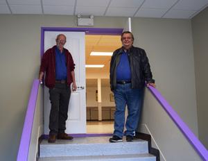 Elks Hall PB entrance